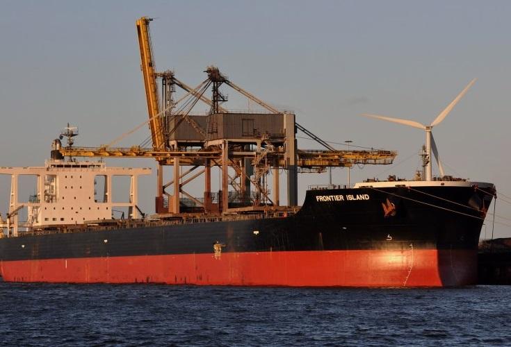 Frontier Island bulker