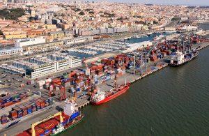 Port of Lisbon stevedors