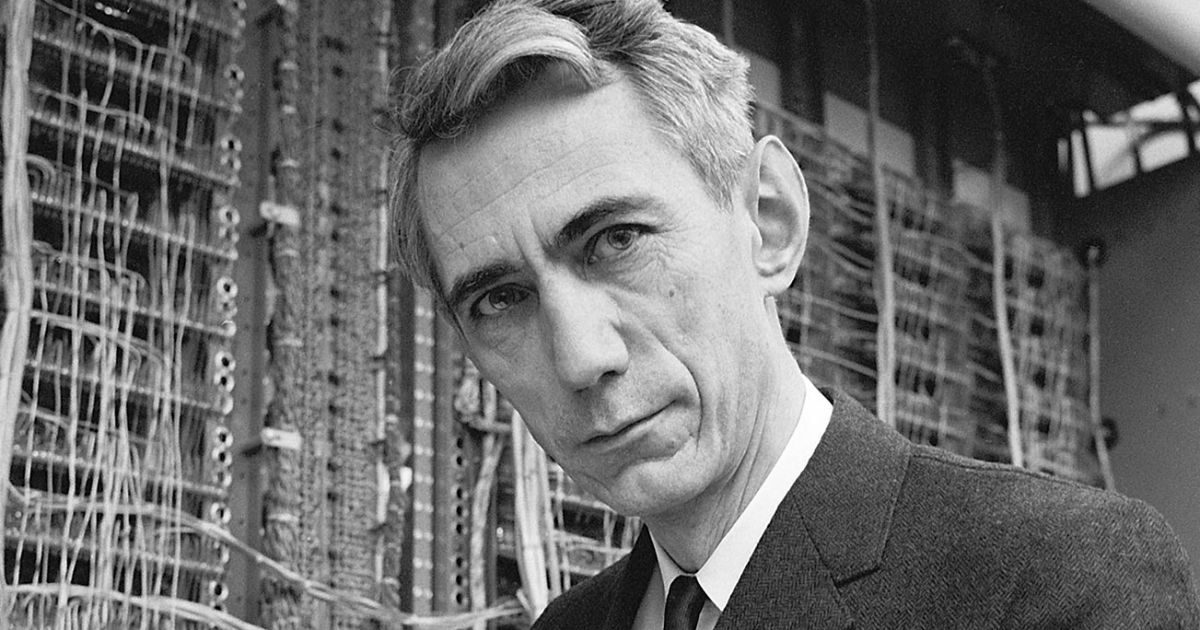 It's Claude Shannon's 100th birthday-Father of Information Theory, Google Doodle