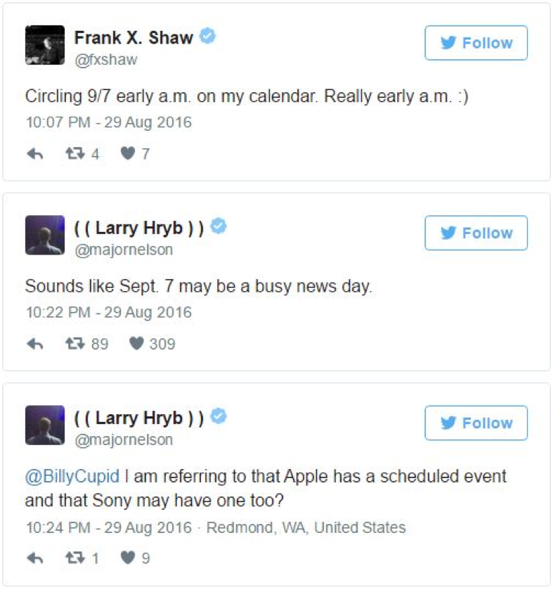 Microsoft may be the part of September 7 event, crashing the iPhone 7 Event 1