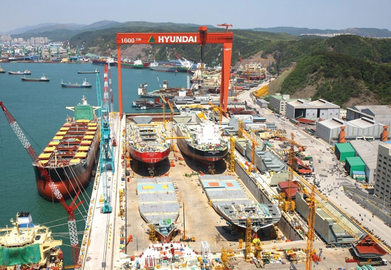 Hyundai Heavy Industries 2000th ship