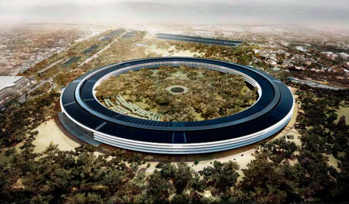 Apple in the Sky Apple's New Campus is 33% Complete