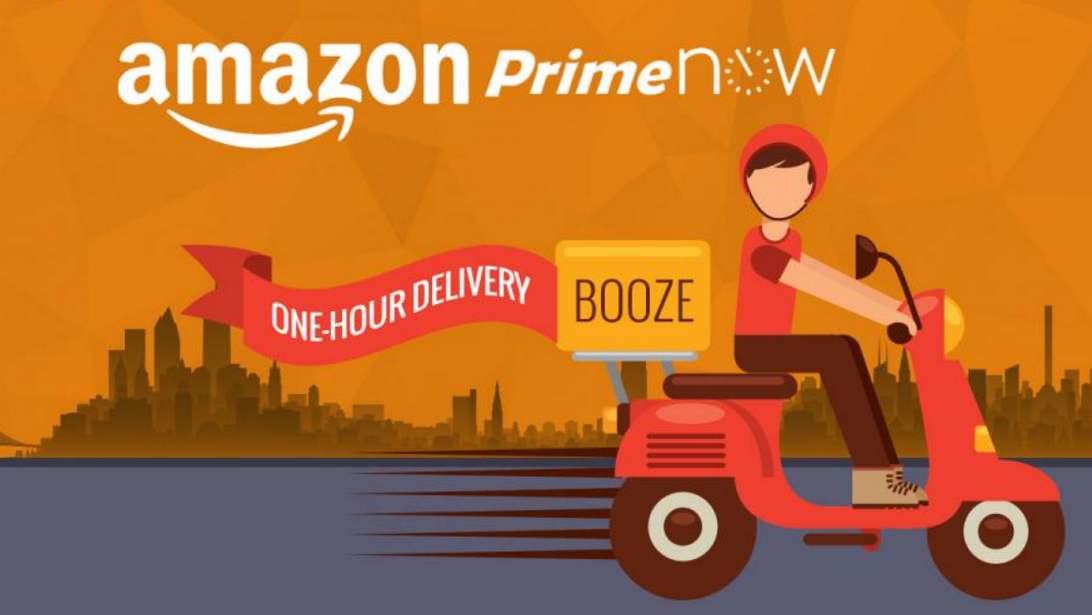 Using the Internet to Order Food: Amazon and Other Companies Delivering Food in Major US Cities