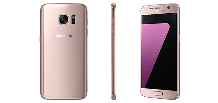 Samsung releases a Pink Gold edition of the Galaxy S7 & S7 edge