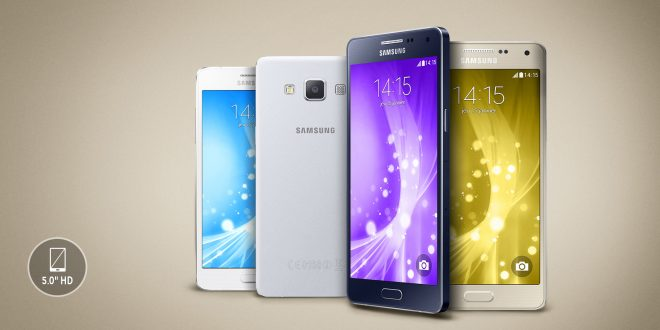 Samsung Galaxy A3, Galaxy A5, and Galaxy A7 are the most demanding smartphones