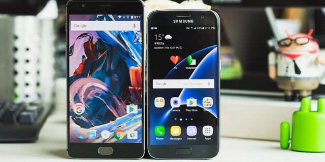 Samsung Galaxy S7 VS OnePlus 3: know the differences between these two flasgship devices