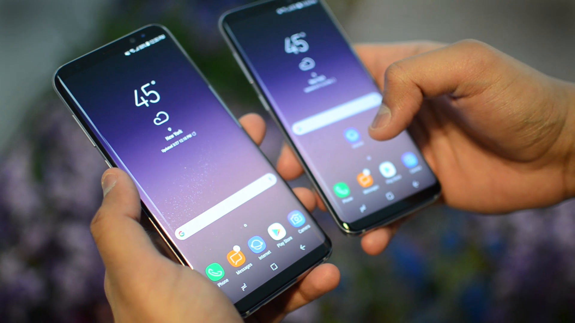samsung galaxy s8 and s8 plus are the top two smartphones. Black Bedroom Furniture Sets. Home Design Ideas
