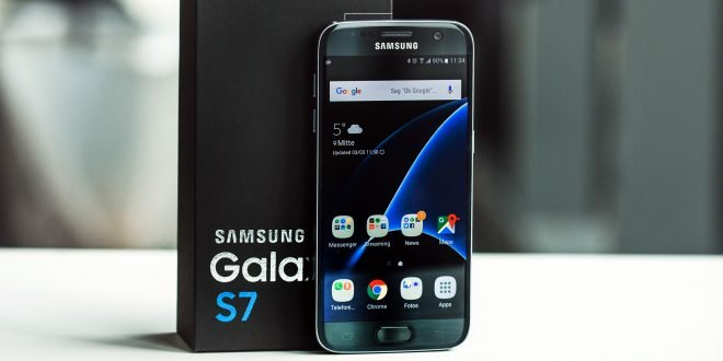 Samsung Galaxy S7 can be immersed in 1.5 meter of water for 30 minutes