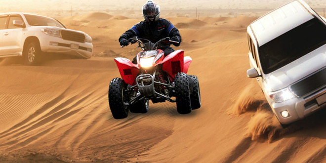 Make Your Trip Thrilling Through Quad Bikes And Dune Buggies